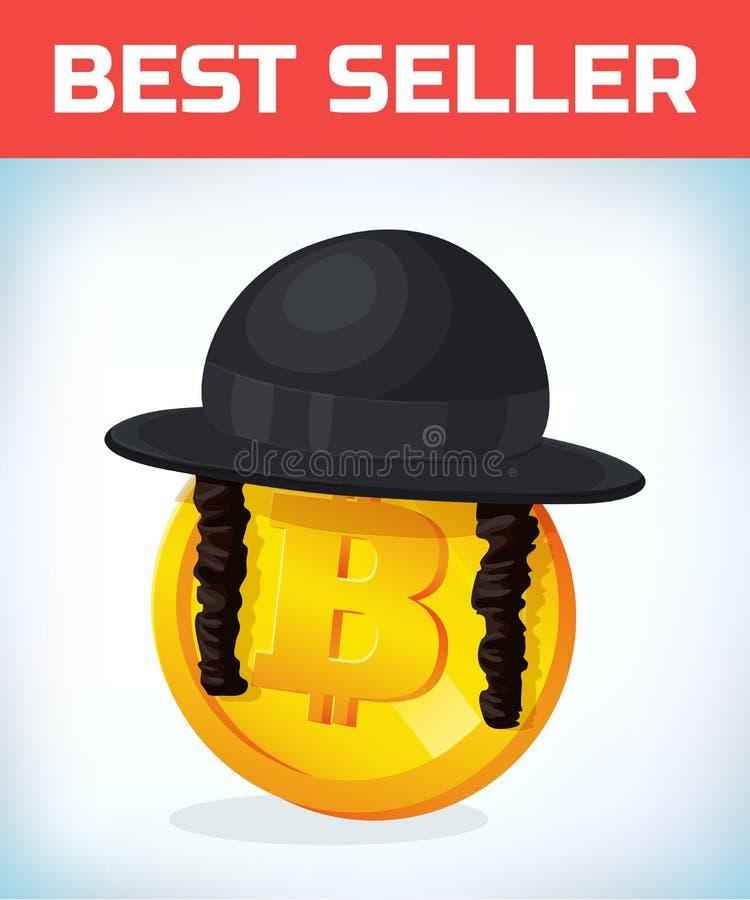 Bitcoin In Orthodox Jewish Hat Bitcoin Digital Currency Crypto