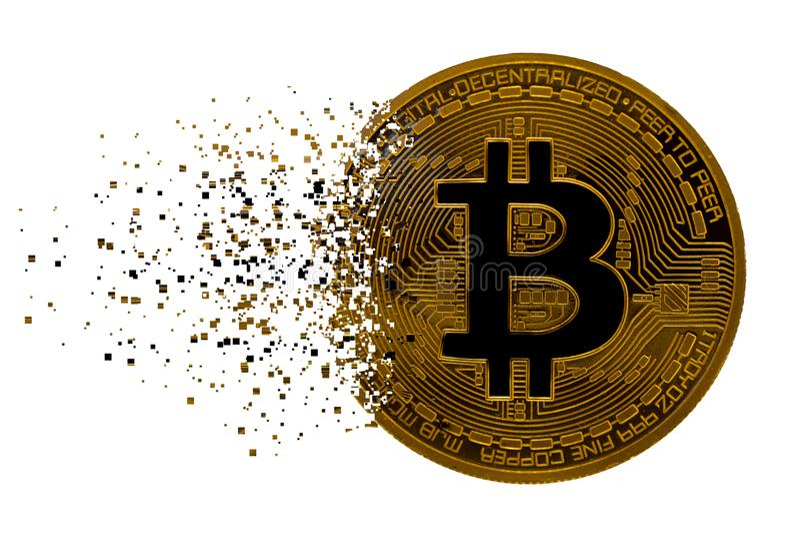 Bitcoin royalty free illustration