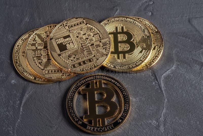 bitcoin równy sobie system płatności który używa ten sam jednostkę uzasadniać transakcje fotografia royalty free