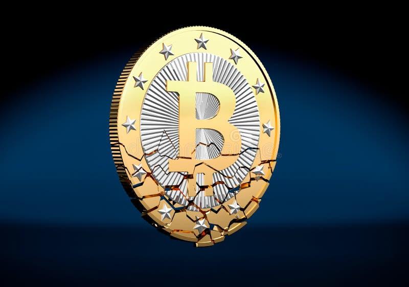 Bitcoin rompió libre illustration