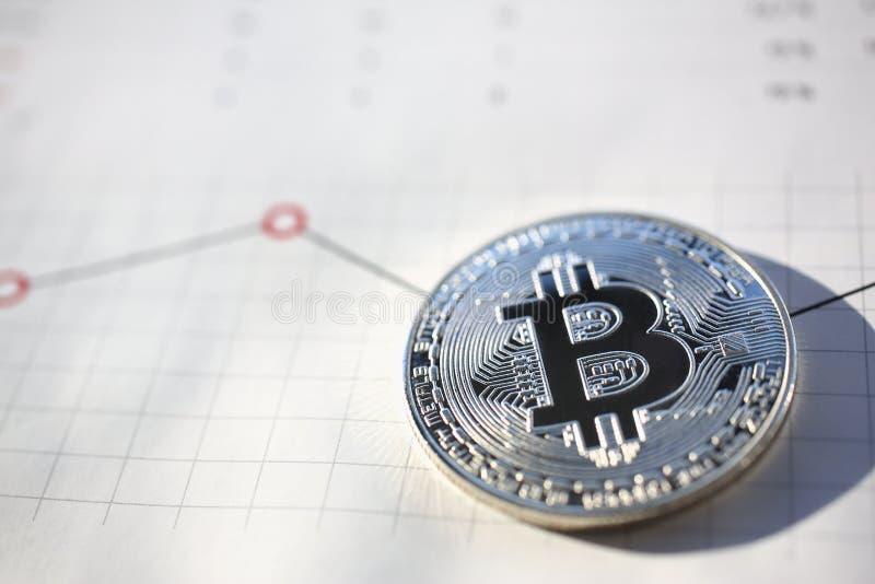Bitcoin stor design för några avsikter arkivfoto