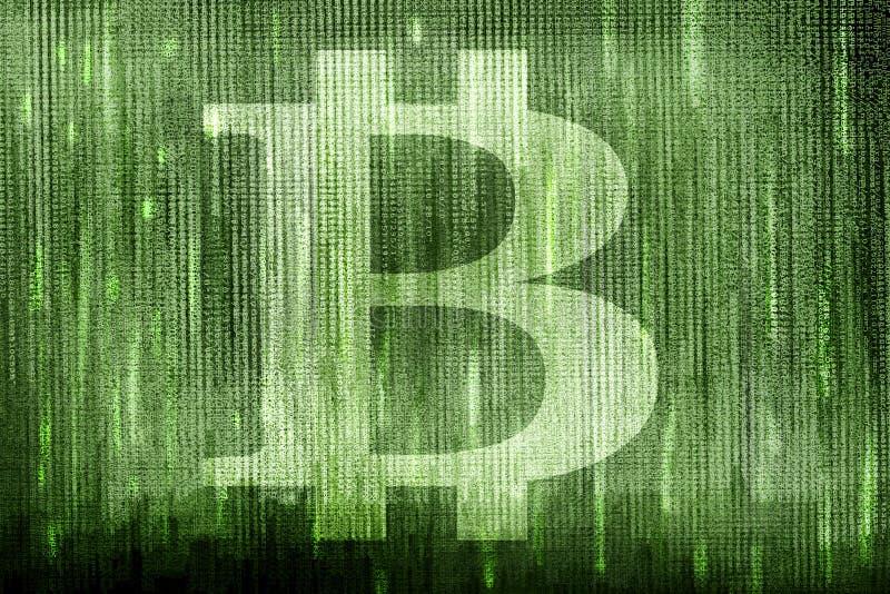 bitcoin symbol fotografia stock