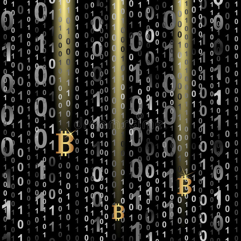 Download Bitcoin stock vector. Illustration of markets, background - 36927104