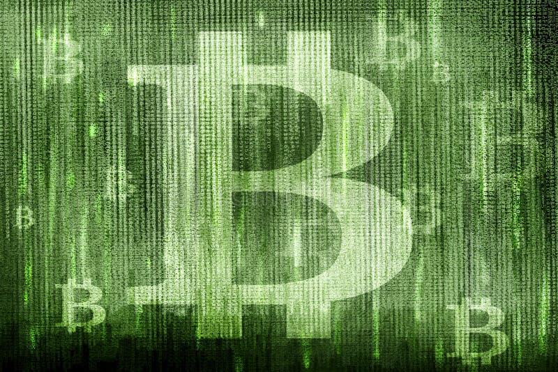 Bitcoin symbole zdjęcia stock