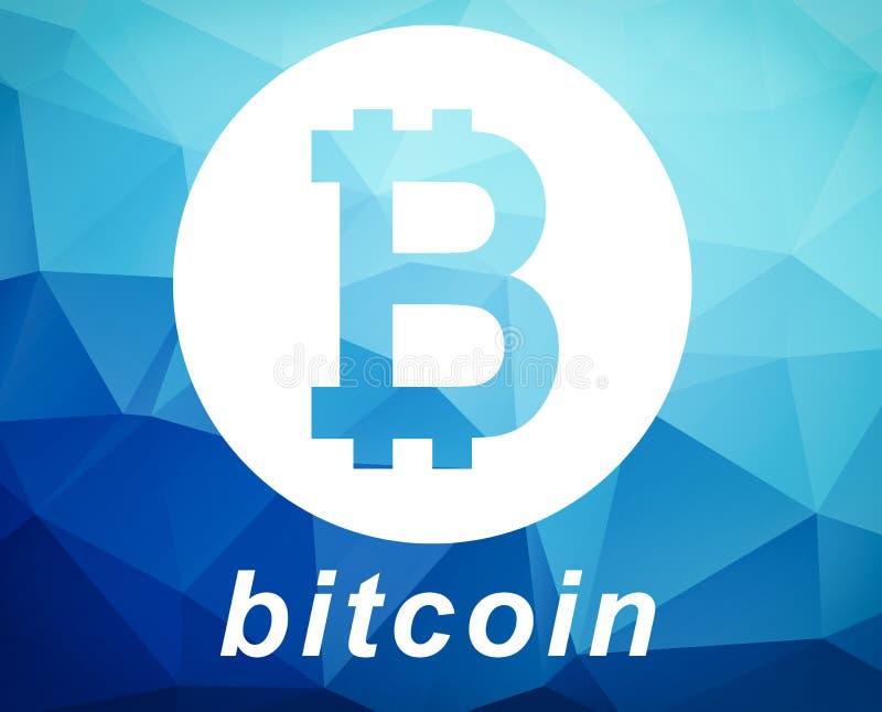 Bitcoin symbolu ilustracja ilustracji