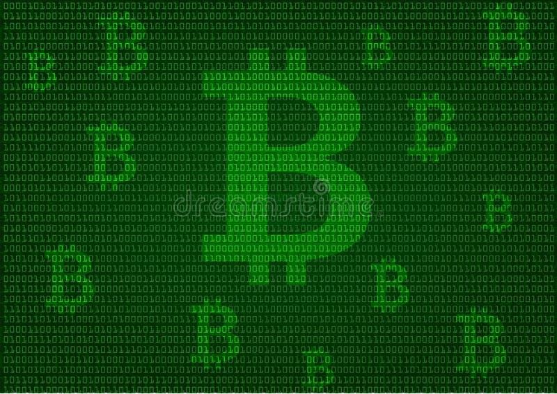 Bitcoinachtergrond royalty-vrije illustratie