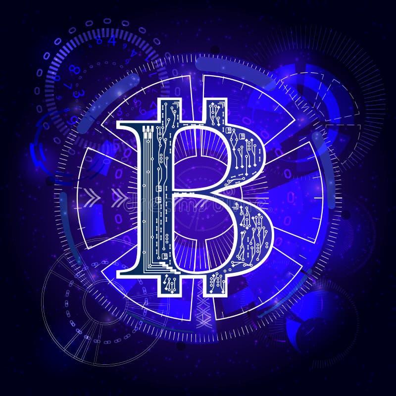 Bitcoins 8个另外的eps格式梯度例证滤网没有雷达可实现的屏幕向量 向量例证