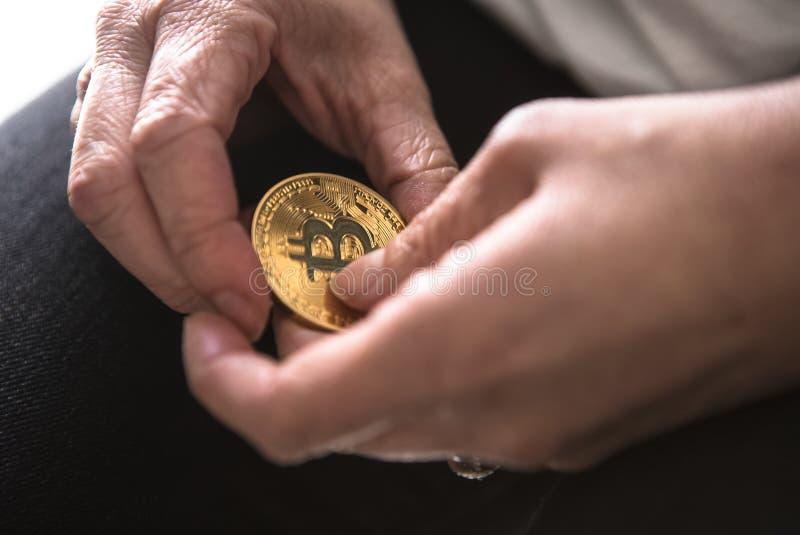 Bitcoins zdjęcie stock