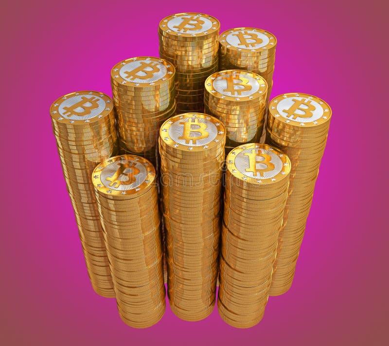 Bitcoins ilustracji