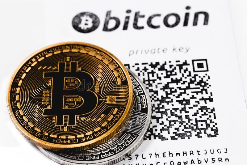 Bitcoins royaltyfria foton