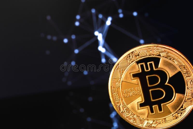 bitcoinsymbol royaltyfri fotografi