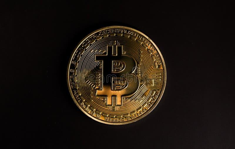 bitcoinsymbol arkivbild