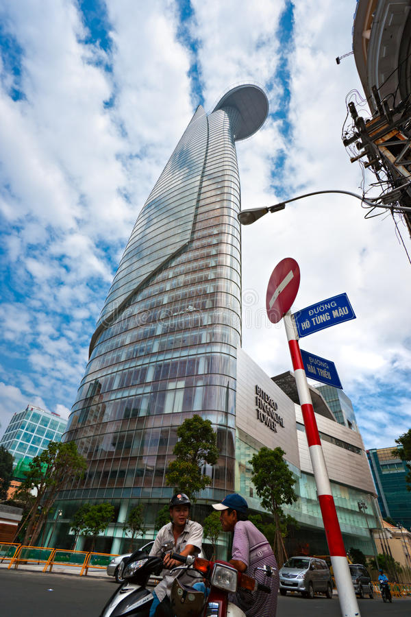 Bitexco Financial Tower , Ho Chi Minh City. Editorial Stock Image