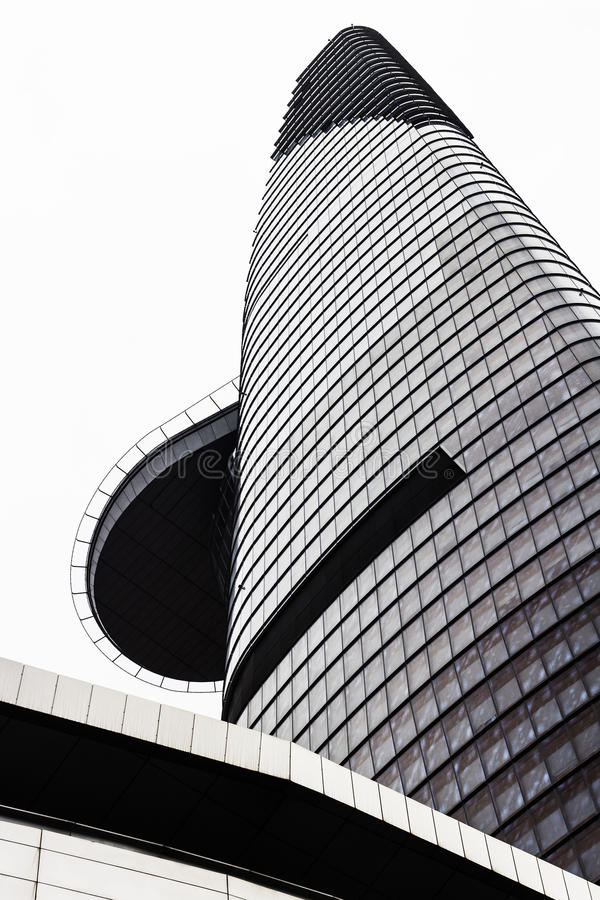 Bitexco financial tower stock photography