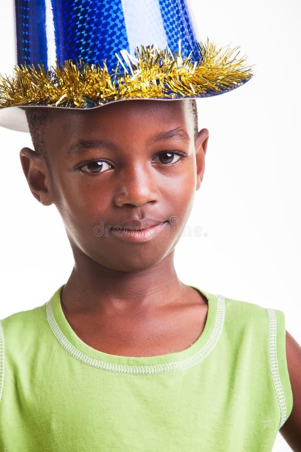 Bithday pojke royaltyfri fotografi