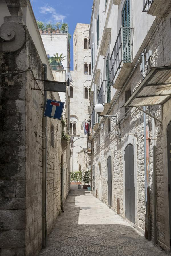 Bitonto, Puglia Italië stock fotografie