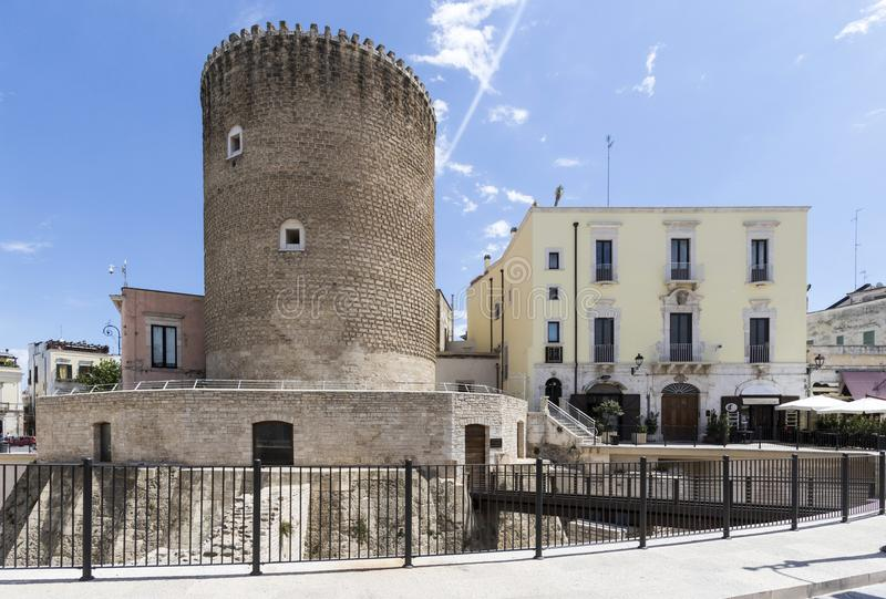 Bitonto, Puglia Italië royalty-vrije stock afbeeldingen