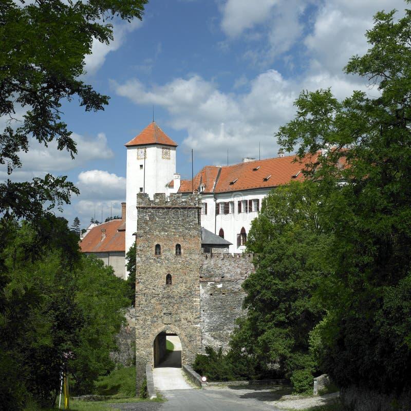 bitov城堡 免版税库存照片