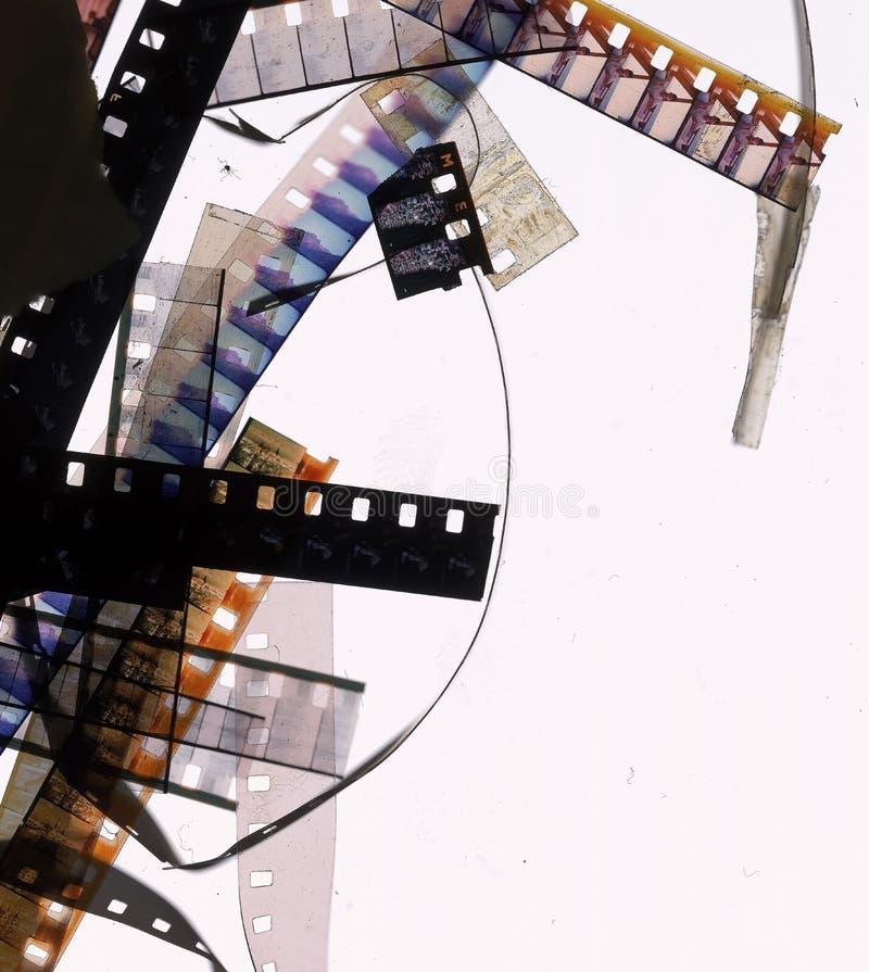 bits de film de 8mm photos stock