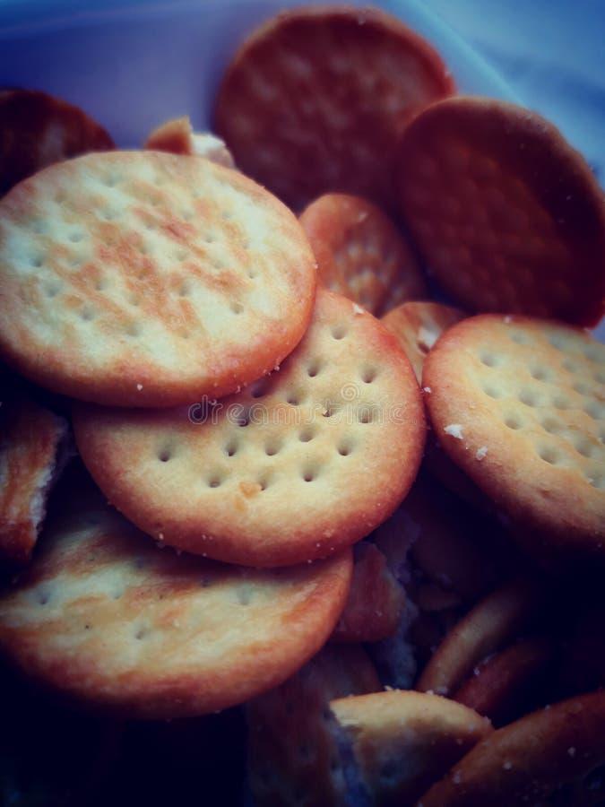 Bits de fromages délicieux image stock