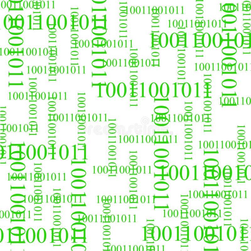 Bits en bytes royalty-vrije illustratie