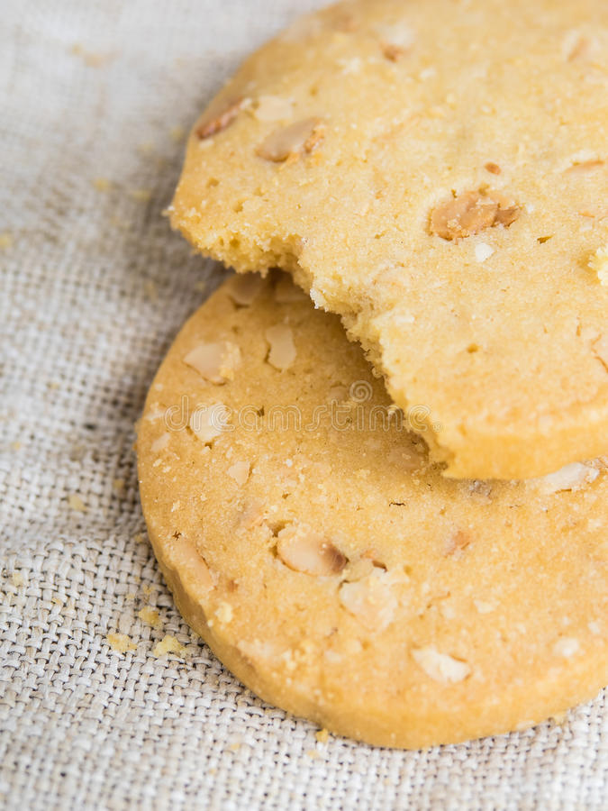 Download Bitten cookies stock image. Image of healthy, closeup - 40738417