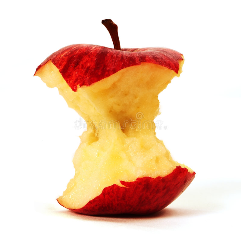 Free Bitten Red Apple Stock Image - 947551