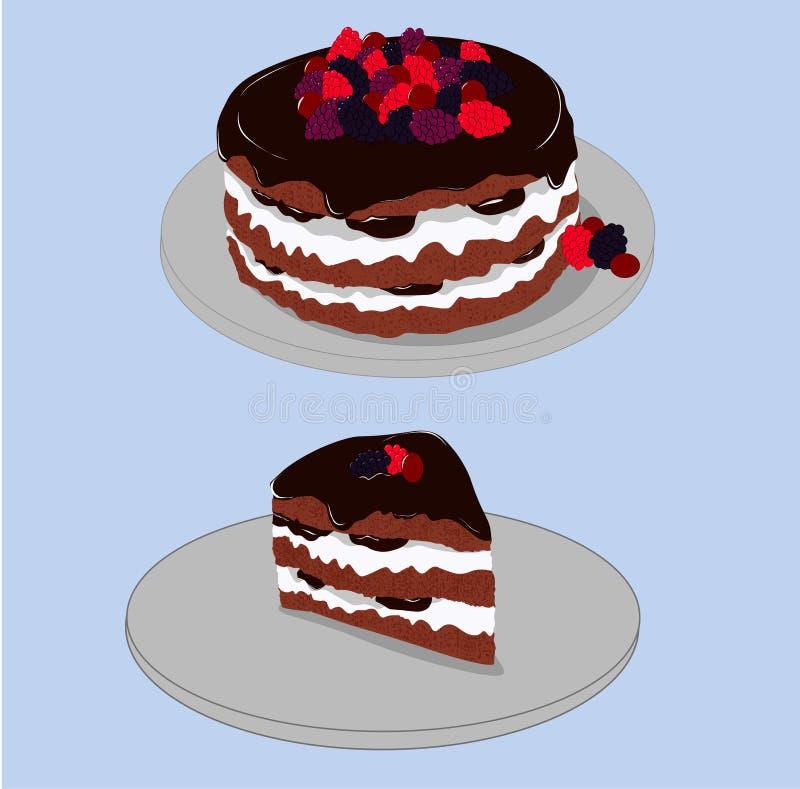 Download Cake Dessert And Slice Plate Stock Illustration - Illustration of strawberry food 112068247 & Cake Dessert And Slice Plate Stock Illustration - Illustration of ...
