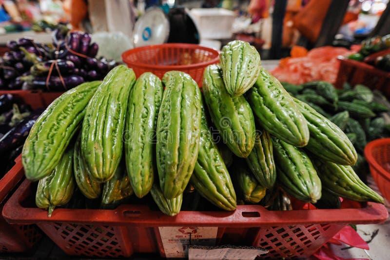 Bitter cucumber royalty free stock photos