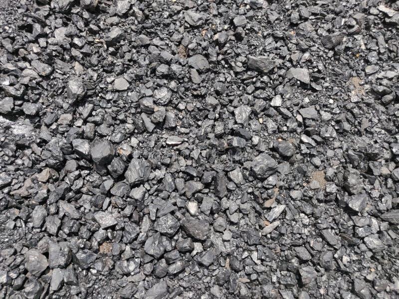 Bitumiczny - antracyta węgiel, wysokiego pozioma węgiel zdjęcia stock