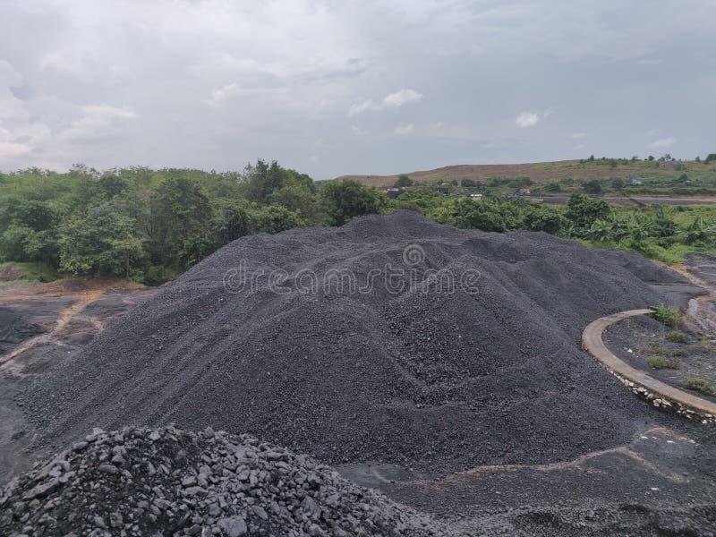 Bitumiczny - antracyta węgiel, wysokiego pozioma węgiel obrazy stock
