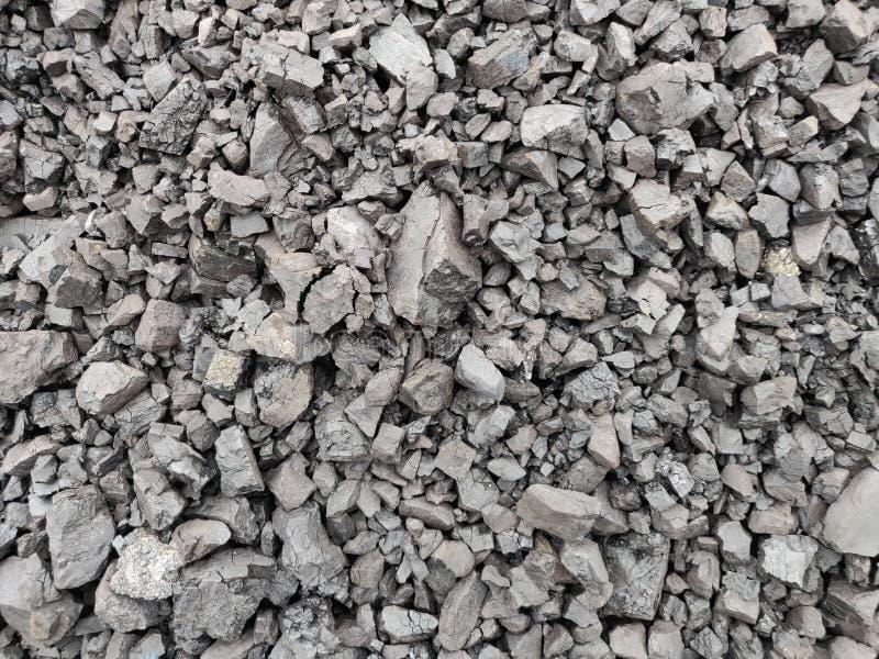 Bitumiczny węgiel przy zapasem zdjęcie stock