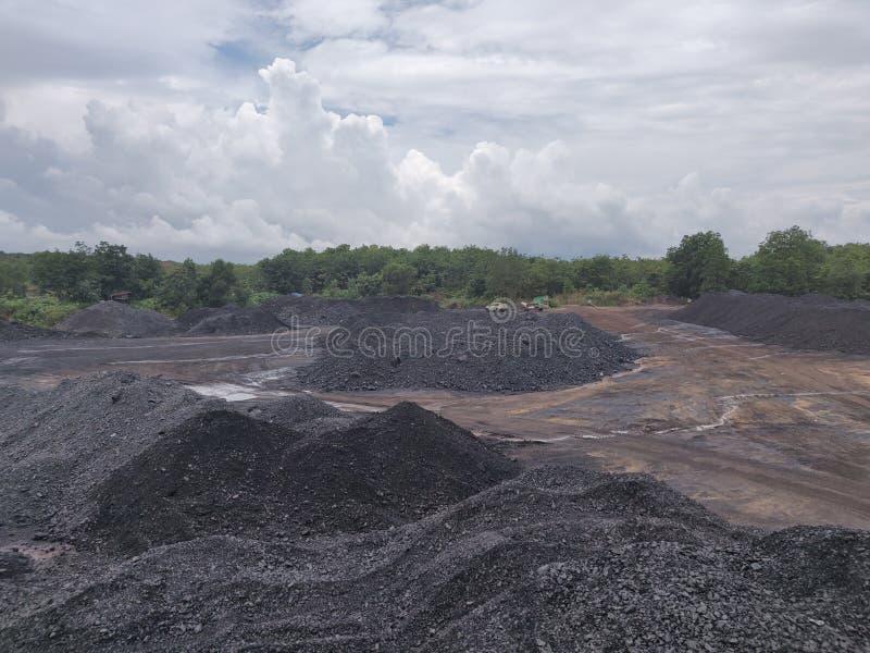 Bituminoso - carbón de antracita, carbón de alto grado imágenes de archivo libres de regalías