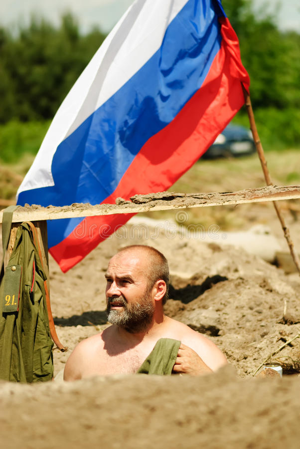 Bitwa Bolimov fotografia stock