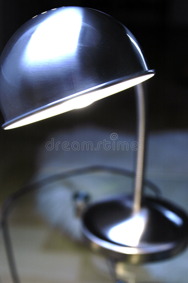 biurko światła fotografia stock