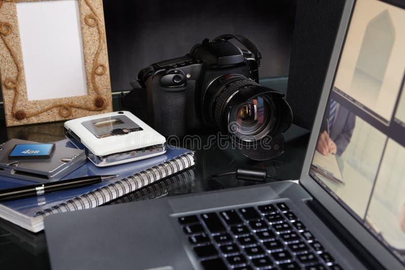 biurko fotograf zdjęcia royalty free