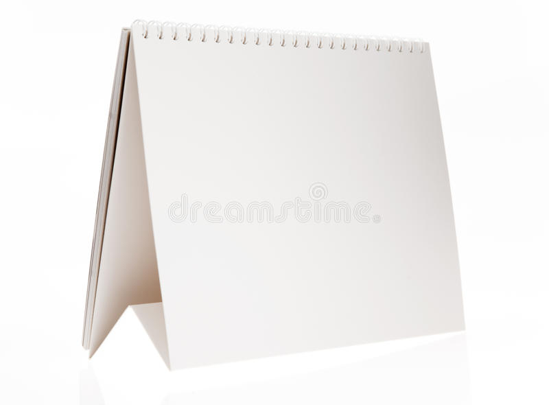 Biurko kalendarz obrazy stock
