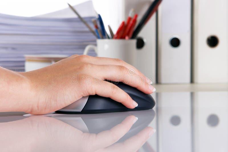 biurko komputerowy zdjęcia stock