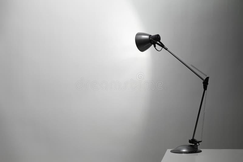 Biurko Lampa obrazy royalty free