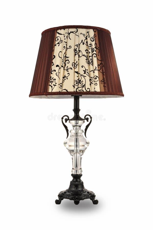 Biurko lampy stołu światło obraz stock