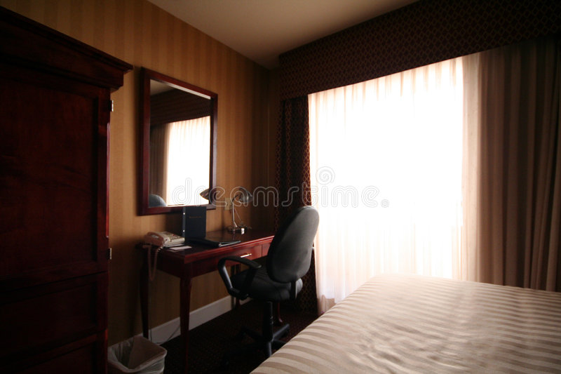 biurko sypialni zdjęcia royalty free