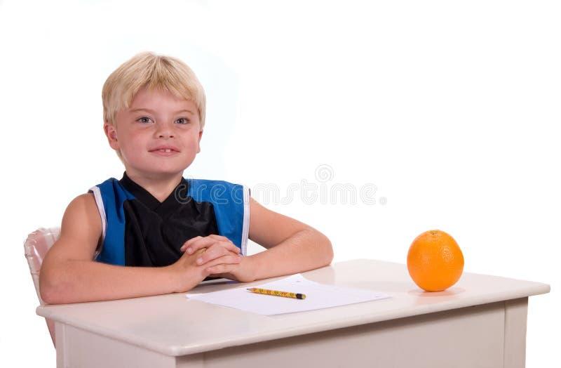 biurko ucznia zdjęcia stock