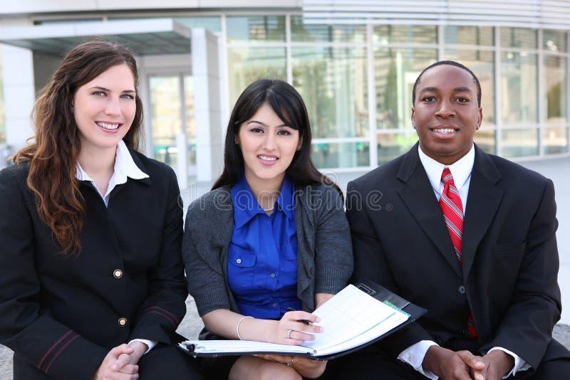 biuro biznesowa różnorodna drużyna fotografia stock