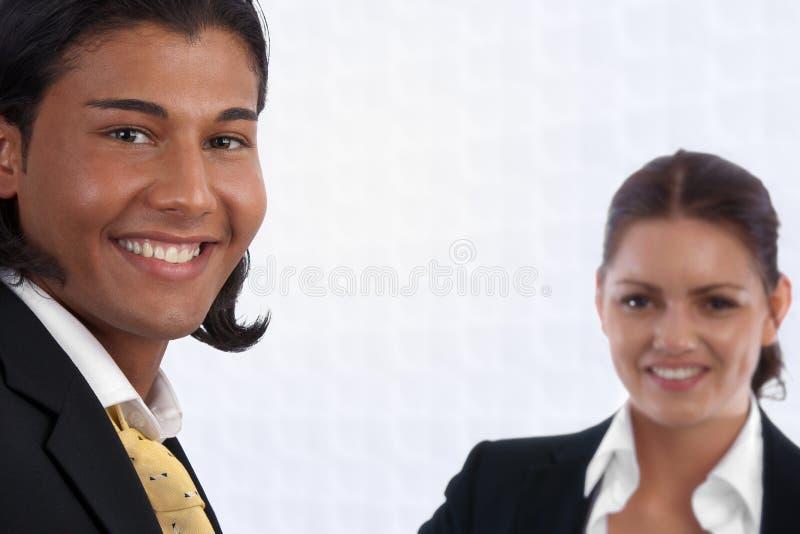 biuro biznesowa różnorodna mini drużyna zdjęcia stock