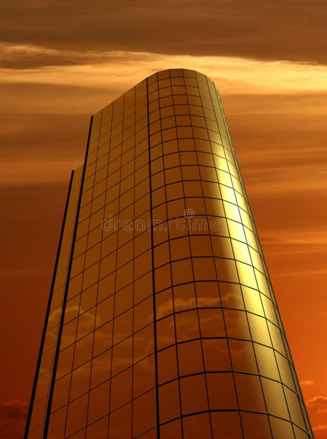 Download Biuro budynku. ilustracji. Obraz złożonej z city, sunrise - 404258