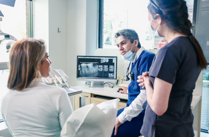 biuro dentystycznego fotografia stock