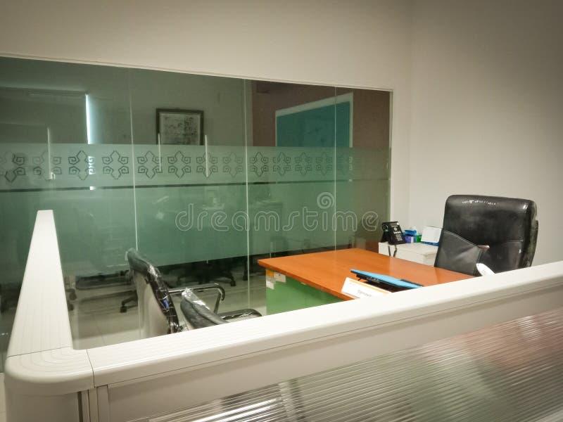 Biuro dla dużego szefa obraz stock