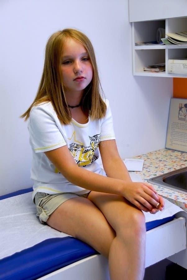 biuro doktor dziewczyny zdjęcie stock
