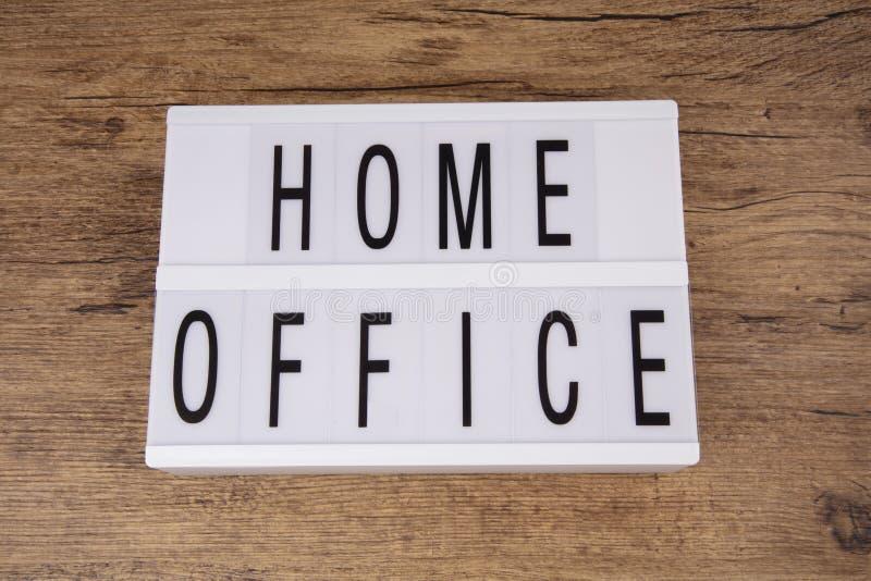 Biuro domowe zdjęcie royalty free