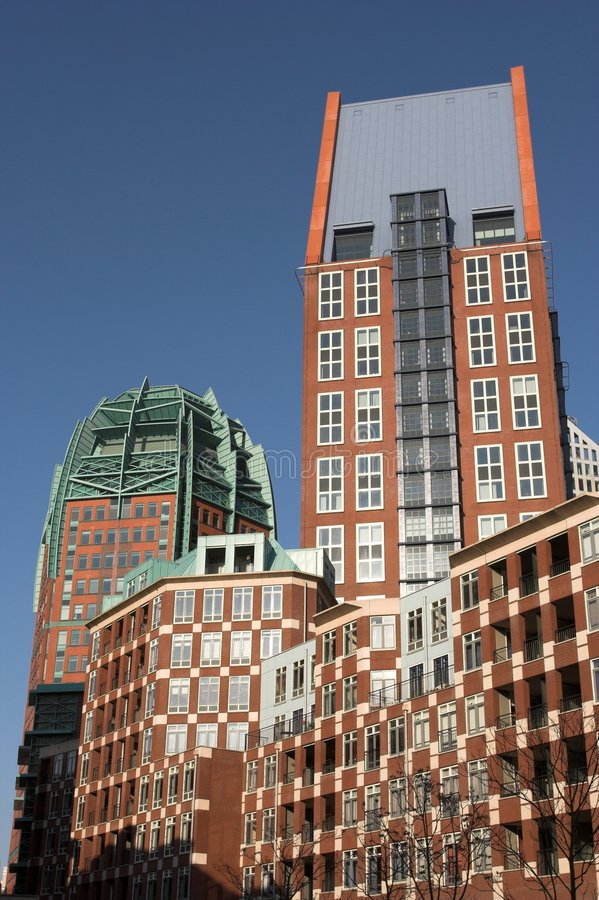 biuro Hague budynku. zdjęcie royalty free